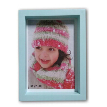 THE OLIVE HOUSE - MDF Photo Frame Biru Muda 5R