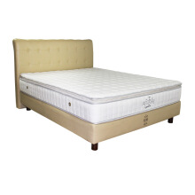 THE LUXE Mattress Reveire Gold Complete Set - Sandiego White/120x200