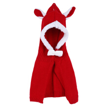 Charming Girl Child Bowknot Animal Rabbit Ear Shape Cloak
