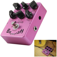 JOYO JF - 16 True Bypass Design British Sound Amp Simulator Electric Guitar Effect Pedal with Aluminum Alloy Casing