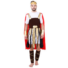 HOUSE OF COSTUMES Rome Warrior M-0026 - Brown Coklat One Size
