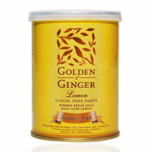 GOLDEN GINGER Can Lemon Sugar Free 100g