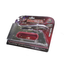 MacUSA Staples/stapler Tembak Manual Gun Tacker Rapide R23/R 23 Grey
