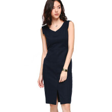LOVE, BONITO Ferrey Tailored Midi Dress - Navy Blue