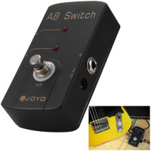 JOYO JF - 30 Aluminum Alloy Material True Bypass Design A / B Switch Guitar Effect Pedal