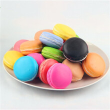 BESSKY Simulation Macaron Food Squishy Super Slow Rising Kid Toy Decompression Toys- Multicolor