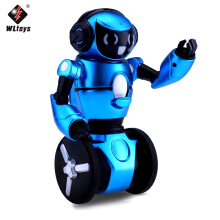 WLtoys F1 2.4G 3-Axis Gyro Intelligent RC Smart Robot Kids Toy-Blue