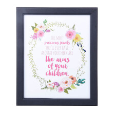 BLOOM & BLOSSOM The Arms Poster with Frame 25x30cm