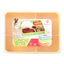 VICTORYHOME Lunch Box 1600ml - Yellow