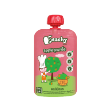 PEACHY Puree Apple Pouch - 100gr