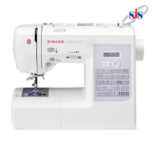SINGER 7285Q Patchwork Mesin Jahit Quilting Computerised - Putih
