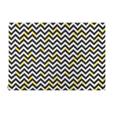 GLERRY HOME DÉCOR Sunglow Chevron Rug - 140x200Cm