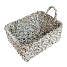 VIE FOR LIVING Pandan Basket Natural White