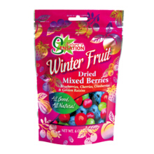 NATURE SENSATION Dried Mixed Berries 170gr