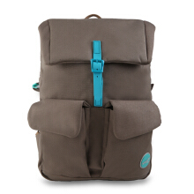Exsport Monica Laptop Backpack - Brown Brown
