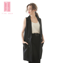 Pink Door Sleeveless Black Outer Black All Size