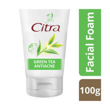 CITRA Green Tea Antiacne Facial Foam 100g