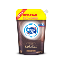 FRISIAN FLAG Susu Kental Manis Chocolate Pouch 560gr