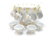 VICENZA Bowl Set Poppy 27Pcs B410LP