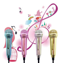 Mini 3.5mm Wired Microphone for Mobile Phone Tablet PC Laptop Speech Sing