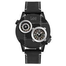 Lee Watch Metropolitan Gents Kulit Hitam M59DBL1-19