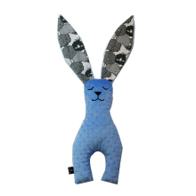 LA MILLOU Minky Bunny Doll Big - Sugar Sheep Caribbean Blue BN02SK