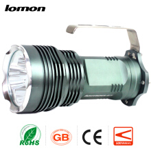 Lomon Cree XML T6 Rechargebale Flashlight LED Waterproof Searchlight Handheld Search Light+4 x Battery + Charger Camping Light Torch