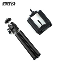 JEREFISH Lightweight Small Phone Camera Tripod Compact Aluminum Tripod with Universal Phone Mount