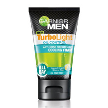 GARNIER Men Turbolight Oil Control Foam 50ml