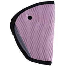 Children Automobile Safety Belt Triangle Fixing Protector(Pink)
