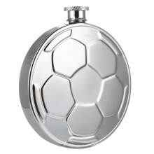 Creative Football Stainless Steel Hip Flask Wine Pot Barware