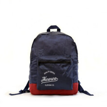 Ninenine Packable Backpack Navy Maroon