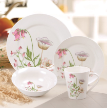 NAKAMI Dinner Set Morning Glory MH-B932 - 16PCS
