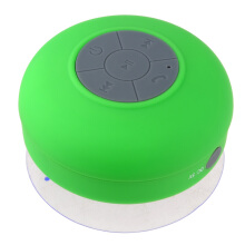 VAPING DREAM - BTS 06 Speaker Bluetooth Anti Air / Waterproof untuk Kamar Mandi Green