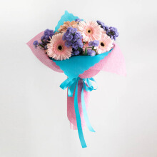 EMME Handbouquet Bunga Cotton Candy - Mix Colour / 45 x 35 x 35 cm