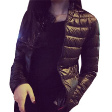 BESSKY Fashion Womens Jacket Slim Parka Coat Overcoat Warm Winter Outwear _