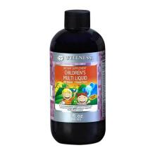 WELLNESS Children's Multi Liquid 8 Oz (240ml)