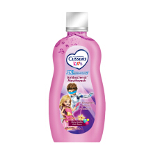 CUSSONS KIDS Antibacterial Mouthwash Minty Bubble Gum 250ml