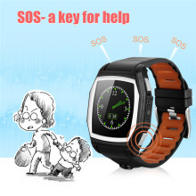 BESSKY  GT68 Bluetooth Smart Watch Sports Phone Watch Heart Rate SOS GPS _ Black