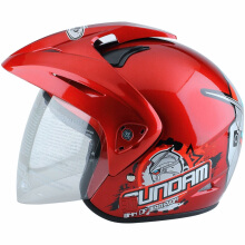WTO Helmet Kids Pet Gundam 3 - Red - M