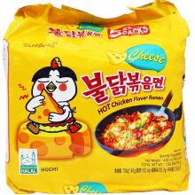 SAMYANG Spicy Ramen Cheese 140g x 5pcs