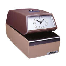 Amano Time Recorder 4740 - Brown
