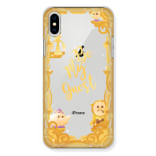 CASETOMIZE Classic Hard Case for Apple iPhone X - Golden Frame