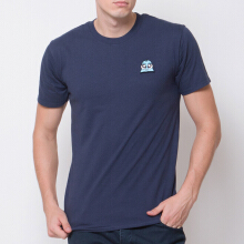 MONSTURO Navy Tshirt for Men + Patch