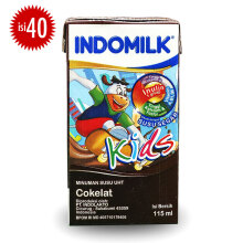 INDOMILK Kids Choco UHT Carton 115ml x 40pcs