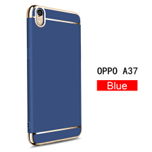 Keymao Oppo A37 Neo 9 Case 3 in 1 Electroplate Frame Matte Metal Cover
