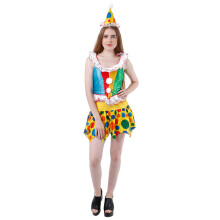 HOUSE OF COSTUMES Clown W-0026 - Multicolor [One Size]