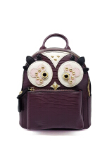 Catriona By Cocolyn Owl backpack - MAROON
