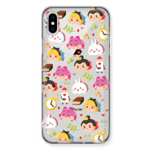 CASETOMIZE Classic Hard Case for Apple iPhone X - Chubby Alice Tsum & Friends