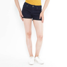 Mobile Power Ladies H5523 Denim Short Pants - Navy Blue